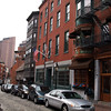 North End Street Scene, Boston