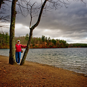 Walden Pond: Nov 20 2009
