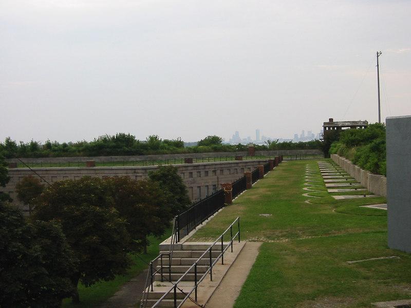 Top of Fort Warren. George's Island