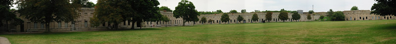 Fort Warren parade ground. George's Island