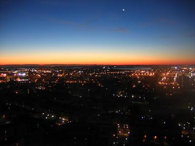 Dawn in Boston
