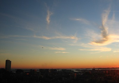 Boston's Dawn Departure