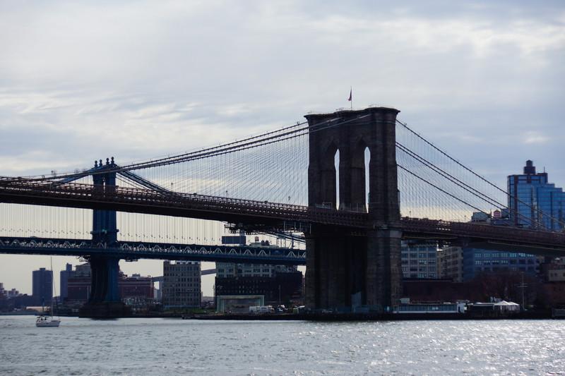 Brooklyn och Manhattan Bridge