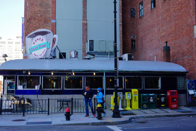 "South Street Diner. En ""50-talssylta"""