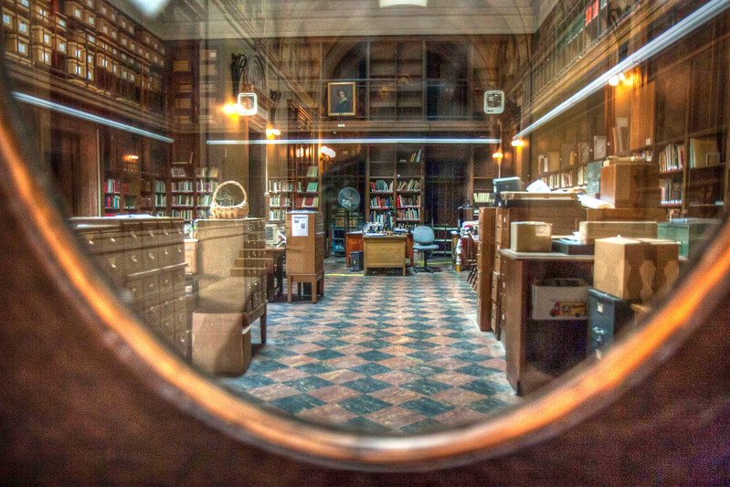 Catalog Room, Boston Public LIbrary