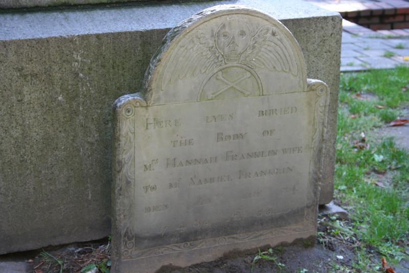Ben Franklin's mother.