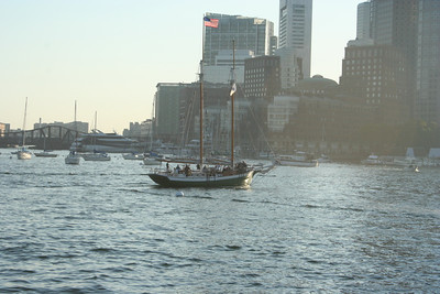 Boston Harbor.