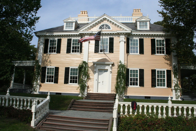 Henry Wadsworth Longfellow's home. In Cambridge, George Washington lived here during the Revolutionary War.