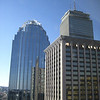 The Prudential and surrounding buildings, as viewed from our hotel window.