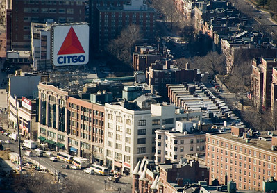 Citgo sign in Kenmore Square
