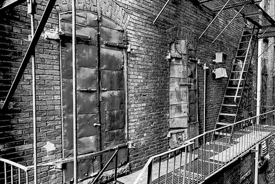 Fire Escape and Doors