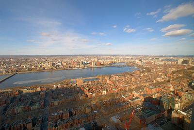 The view towards Maine - Boston, MA