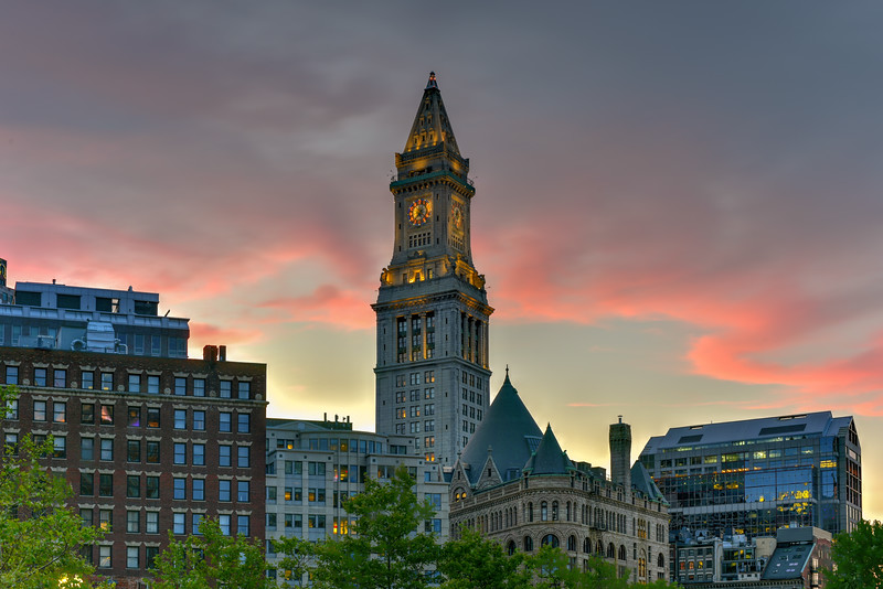 The Custom House Tower - Boston, Massachusetts