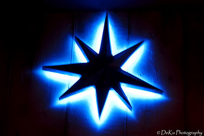 Another neon star at Jillian's