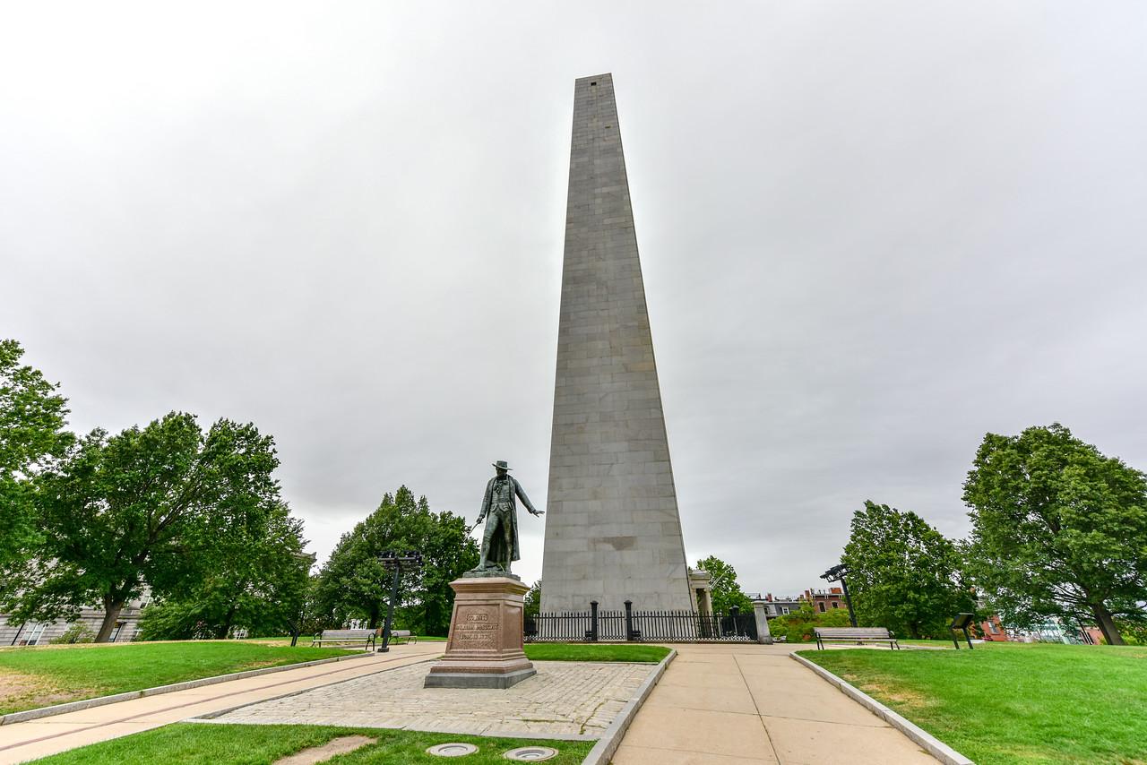 Bunker Hill Monument - Boston, Massachusetts