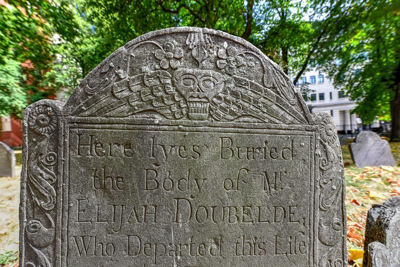 Granary Burying Ground - Boston, Massachusetts