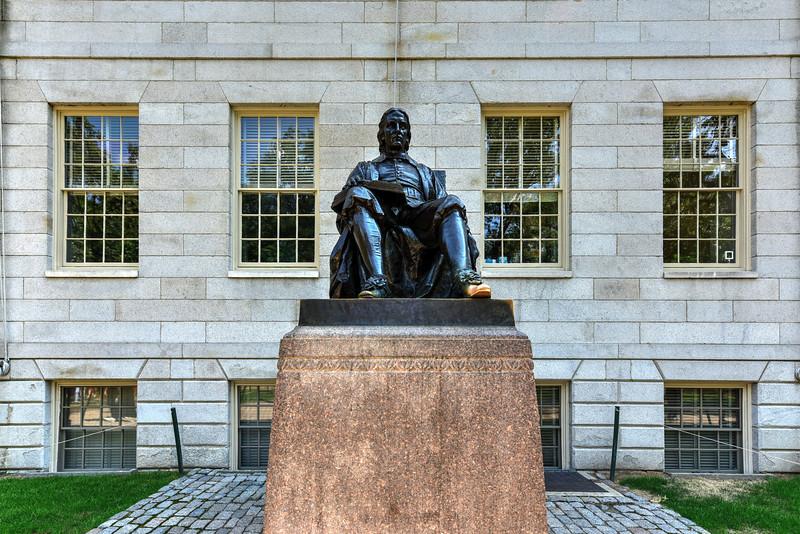 John Harvard Statue - Boston