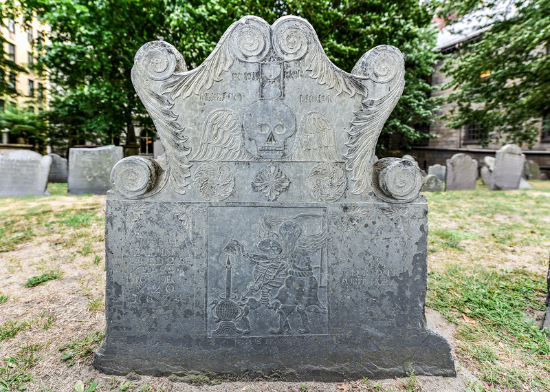 King's Chapel Burial Ground - Boston, Massachusetts