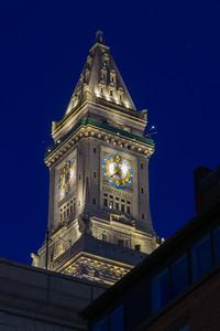 Boston Customs House Clock Tower