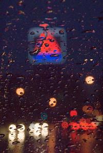 Citgo in rain