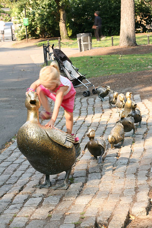 Make Way for Ducklings Boston
