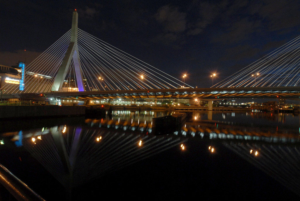 Zakim span, looking south