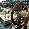 "Ship's wheel of the U.S. Constitution - ""Old Ironsides"" in Boston Harbor"