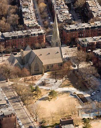 Old church, Boston