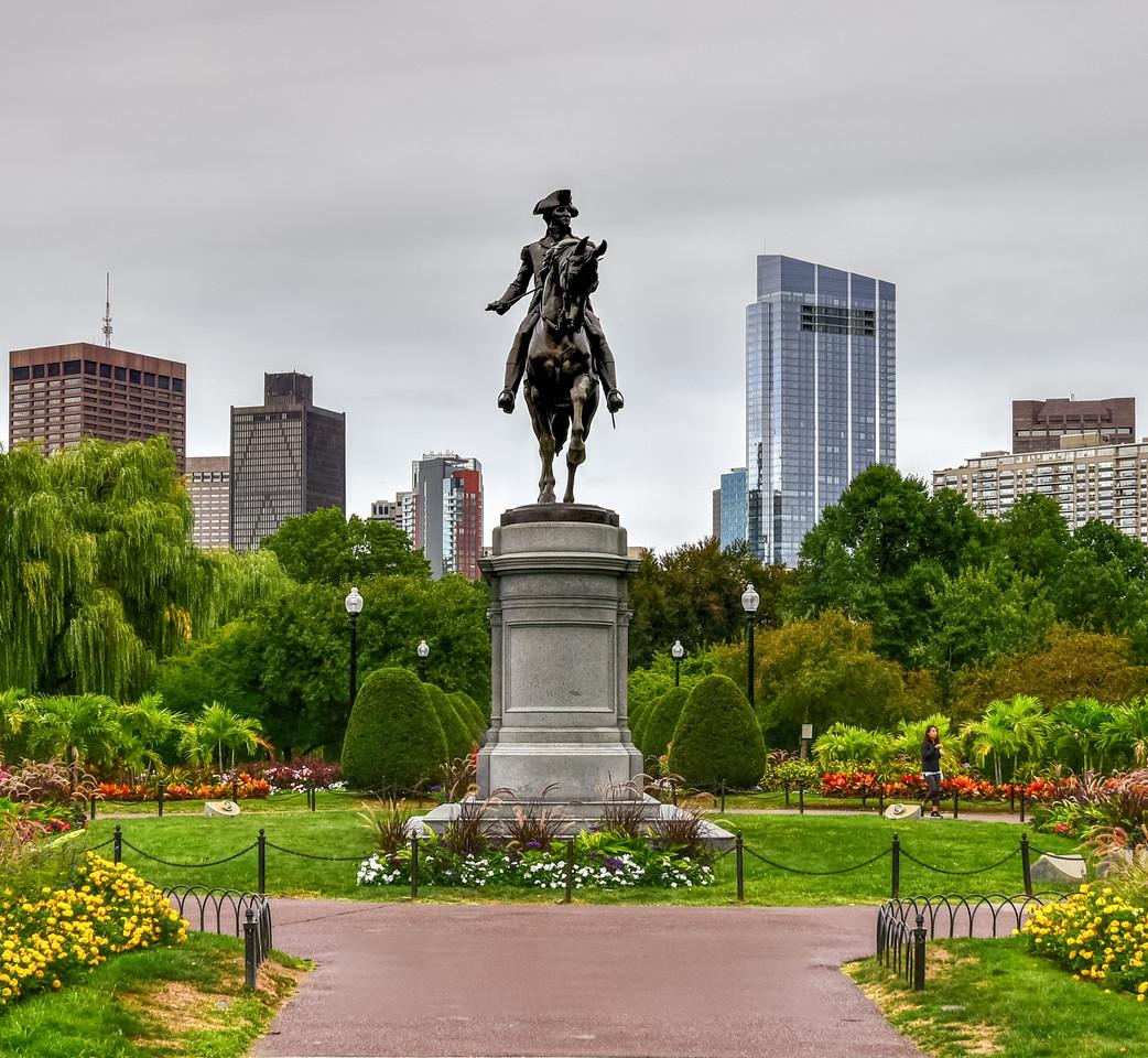 George Washington Monument - Boston