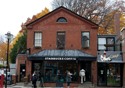 Starbucks Harvard University 2008