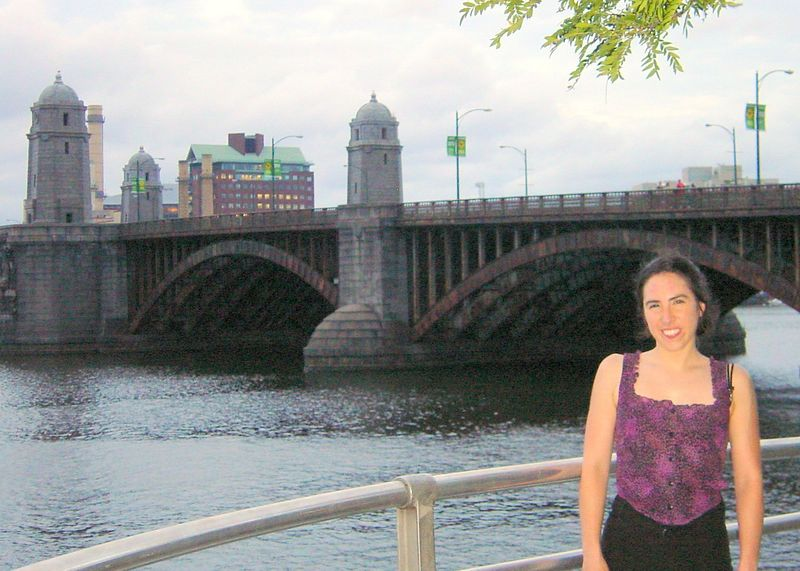 "Longfellow Bridge.  I saw many other precious sights on this guided bike tour of Boston ( <a href=""http://www.urbanadventours.com"">http://www.urbanadventours.com</a>), but we were usually too intent on pedaling to stop for pictures."