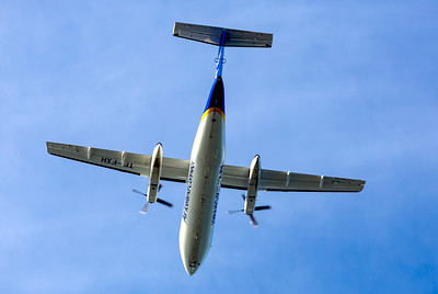 A Bombardier Dash8.  One will take us to Greenland on Thursday.