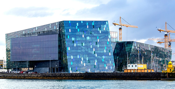 Reykjavik's opera house, Harpa