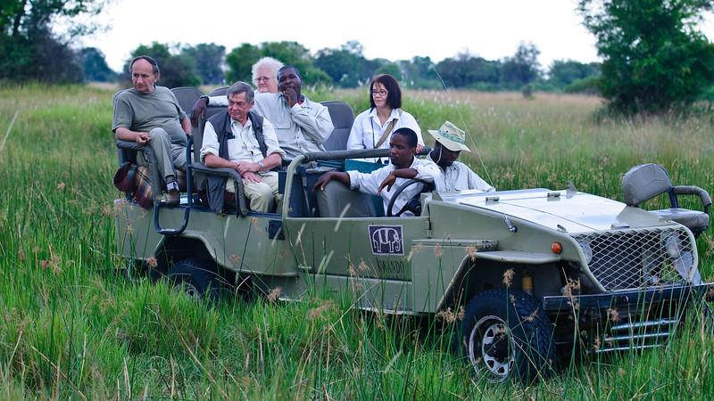 100_8841<br /> Little Kwara safari vehicle.
