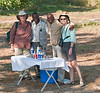 100_7485<br /> Mokoro break. From the left: Jan, Simon, Dicks and Clare.
