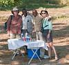 100_7485<br /> Mokoro break. From the left: Jan, Simon, Dicks and Clare.