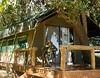 My tent at the Okavango Camp