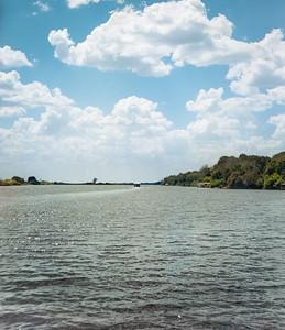 Starting our River Safari in Chobe