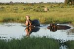 KA6P6761 Botswana, Okavanga, Game Park, Safari