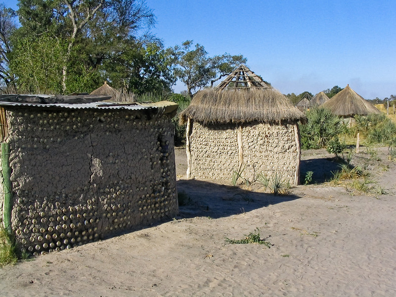 local village, Okavango Delta