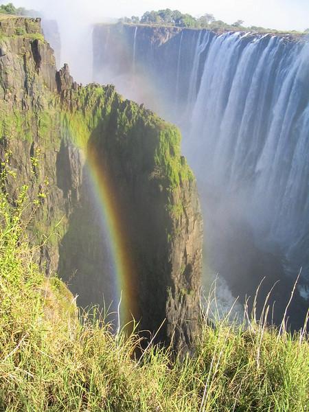 Victoria Falls or Mosi-oa-Tunya (the Mist that Thunders), Zimbabwe