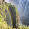 Victoria Falls or Mosi-oa-Tunya (the Mist that Thunders), Zimbabwe