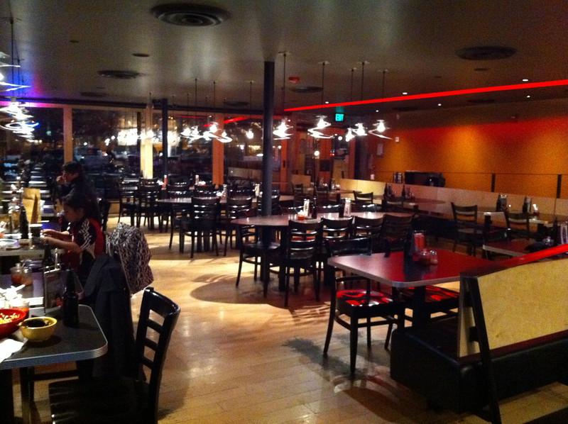 Tokyo Joe's in Boulder, Colorado.