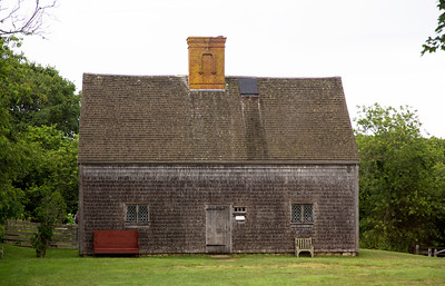 Jethro Coffin House, oldest in Nantucket: 1686