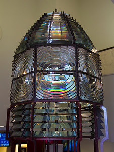 A 2nd-order fresnel light in the Nantucket Whaling Museum
