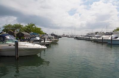 Back in a Nantucket Harbor marina