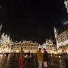 Großer Platz bei Nacht