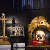 Ein paar Reliquien in der Kathedrale St. Michael und St. Gudula