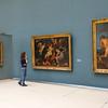 Irene im Museum für alte Kunst/alte Meister