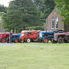 Vintage Tractors on Brackenfield Green